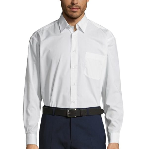 CHEMISE HOMME POPELINE MANCHES LONGUES - BALTIMORE