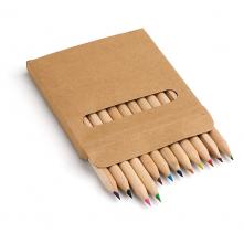 Boîte avec 12 crayons de couleur. - 91747
