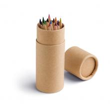 Boîte avec 12 crayons de couleur. - 91752