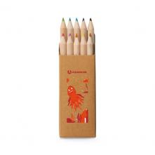 Boîte avec 10 crayons de couleur. - 91931