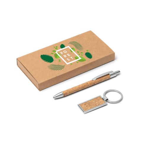 Ensemble stylo et porte-clés. - 93324