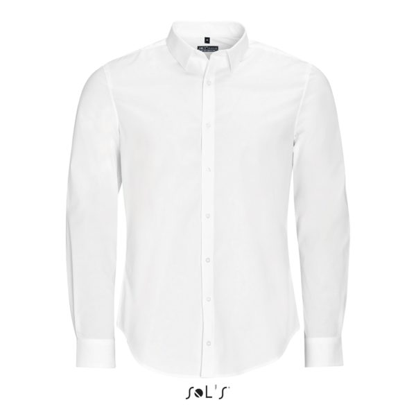 CHEMISE HOMME STRETCH MANCHES LONGUES - BLAKE MEN