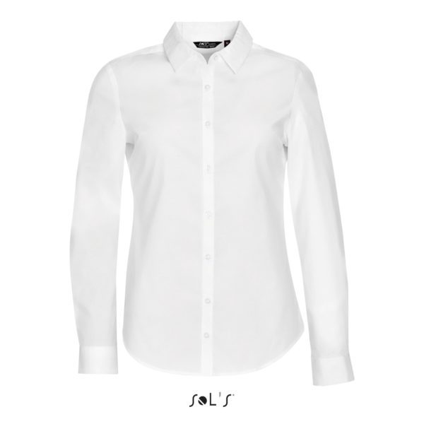 CHEMISE FEMME STRETCH MANCHES LONGUES - BLAKE WOMEN