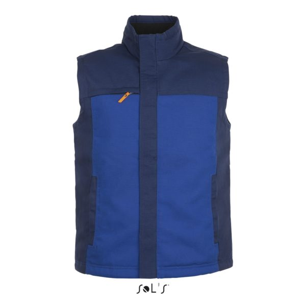 BODYWARMER BICOLORE WORKWEAR HOMME - MISSION PRO