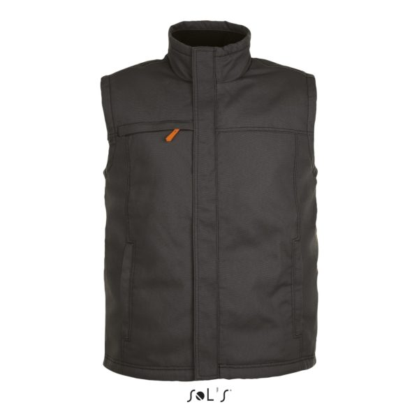 BODYWARMER UNICOLORE WORKWEAR HOMME - WORKER PRO