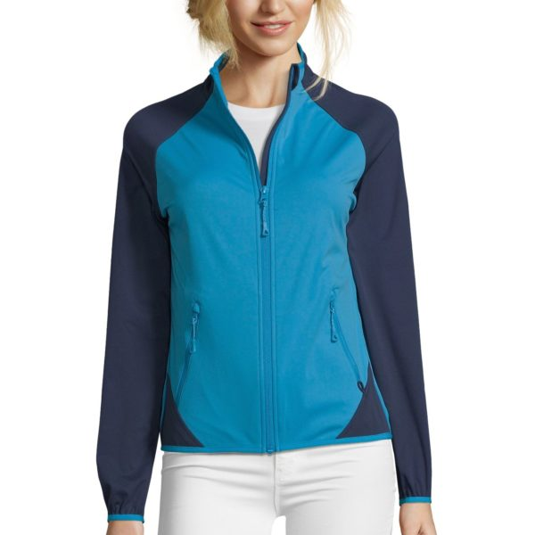 SOFTSHELL ULTRA LIGHT BICOLORE FEMME - ROLLINGS WOMEN