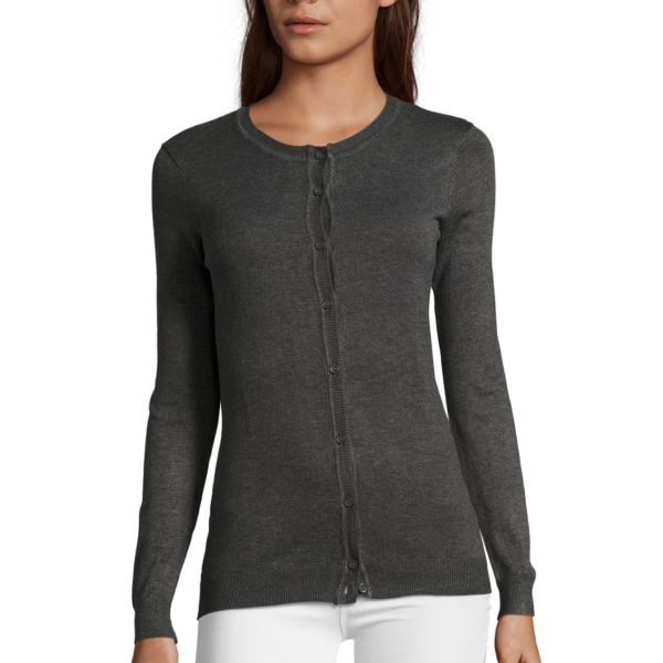 CARDIGAN FEMME COL ROND - GRIFFIN