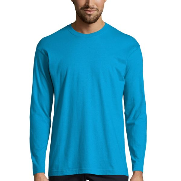 TEE-SHIRT HOMME COL ROND MANCHES LONGUES - MONARCH