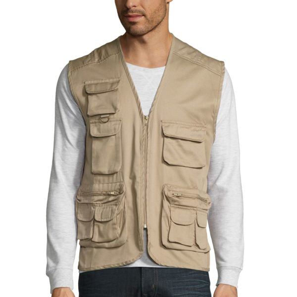 GILET REPORTER MULTIPOCHES - WILD